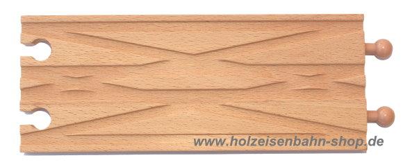 doppel weichenschiene f r holzeisenbahn kompatibel zu brio thomas and friends heros eichhorn. Black Bedroom Furniture Sets. Home Design Ideas