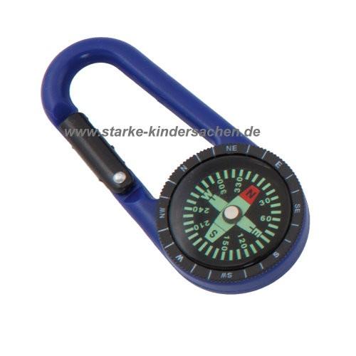 Karabinerhaken mit Kompass für Kinder, Kompassanhänger