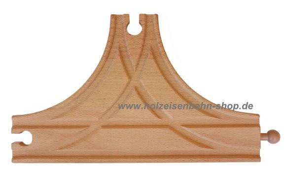 T-Weiche Weichengleise für die Holzeinsenbahn, Abzweigweiche